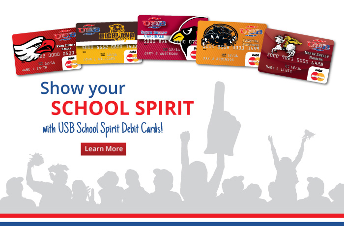 Link to learn about the school spirit debit card